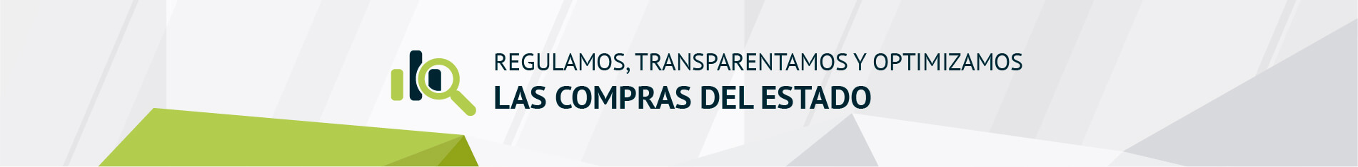 Regulamos, transparentamos y optimizamos las compras del Estado